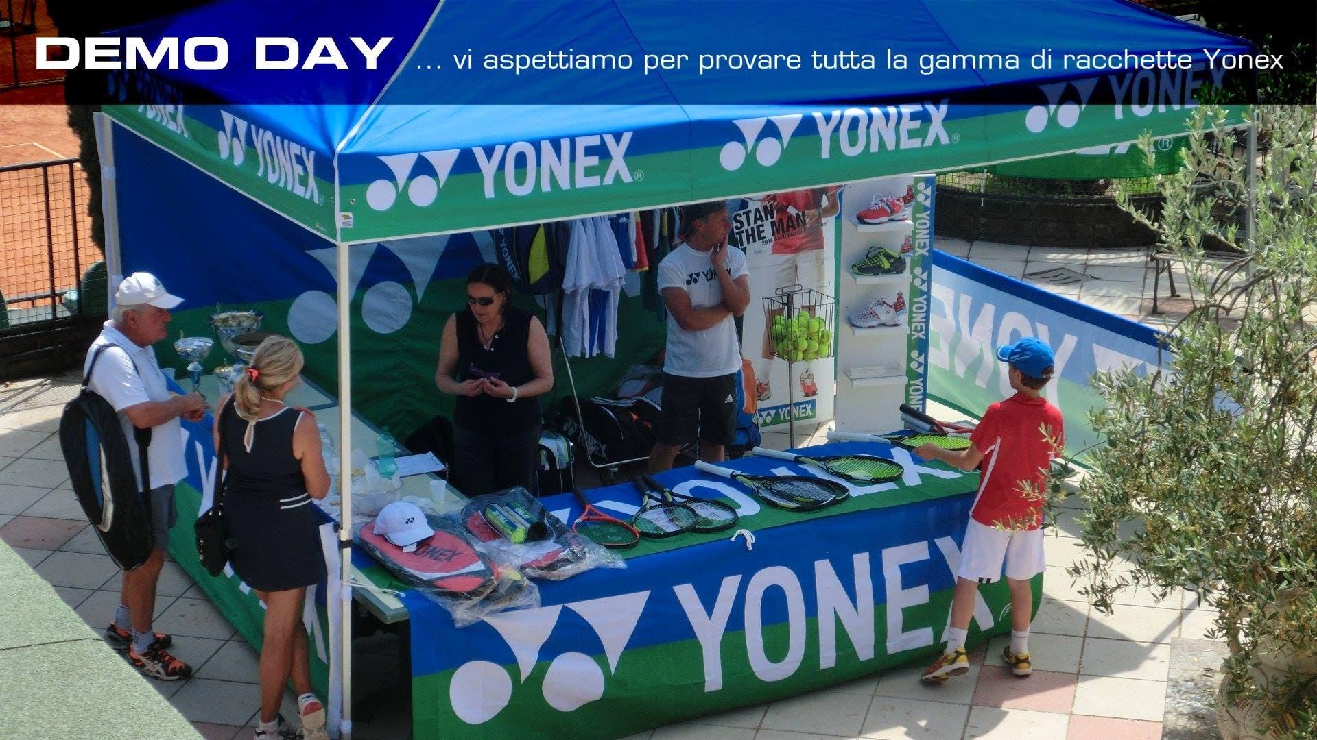 Yonex demo day a Roma: prova tutte le nuove racchette Yonex