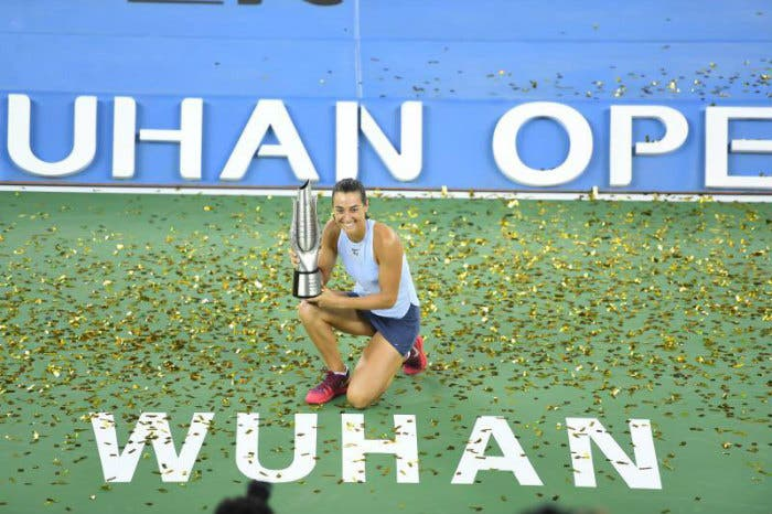 WTA Wuhan: Caroline Garcia corona una settimana da sogno