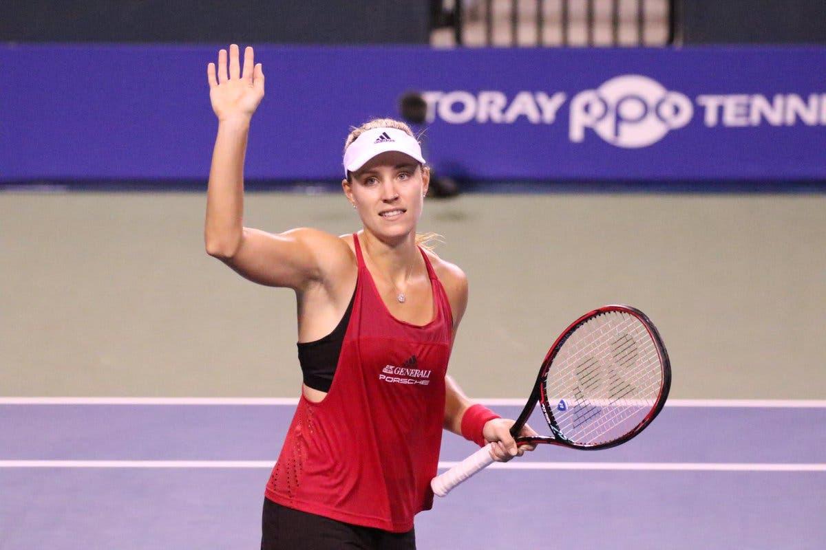 WTA Tokyo: Kerber rinasce contro Pliskova, Muguruza da numero 1