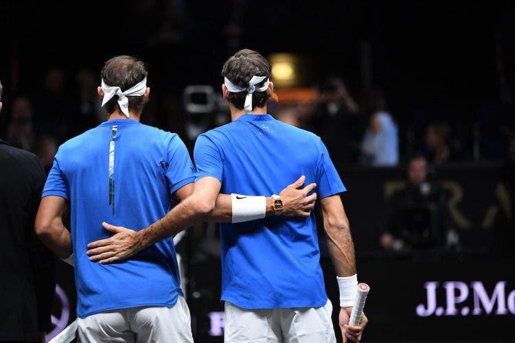 Federer e Nadal all'O₂ Arena non ci sono