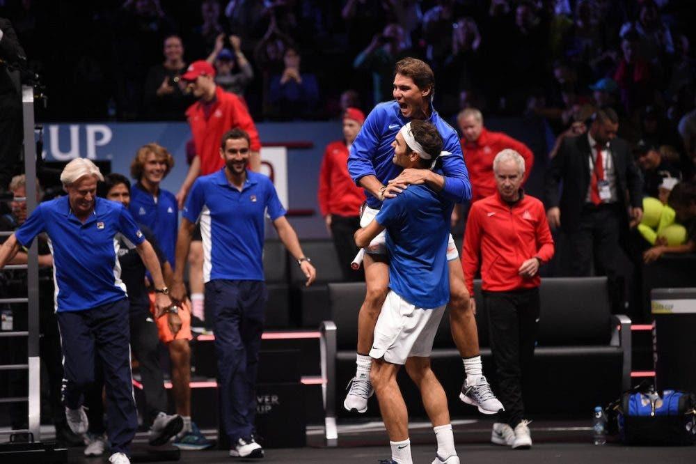 Laver Cup: Federer! La prima edizione è dell'Europa