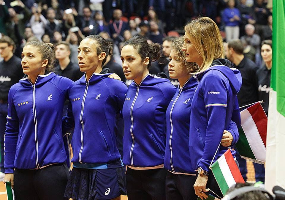 Fed Cup: Italia-Spagna si giocherà a Chieti