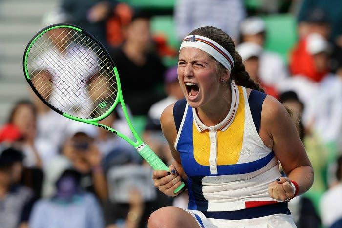 WTA Wuhan: Pliskova domina, rischiano Ostapenko e Muguruza
