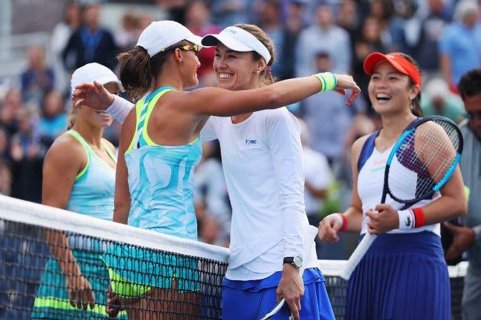 US Open, doppio: Hingis trascina J. Murray in semi e Chan nei quarti