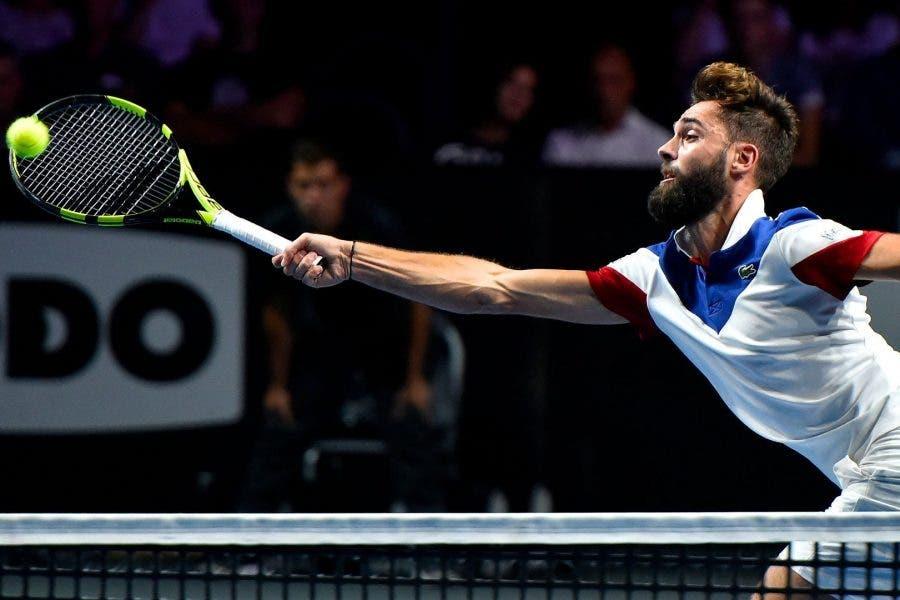 ATP Metz: Paire salva match point, elimina Goffin. Passa Mischa