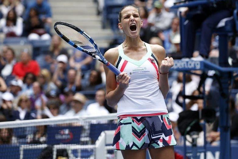 US Open: Pliskova si salva al terzo, out Ostapenko e Radwanska