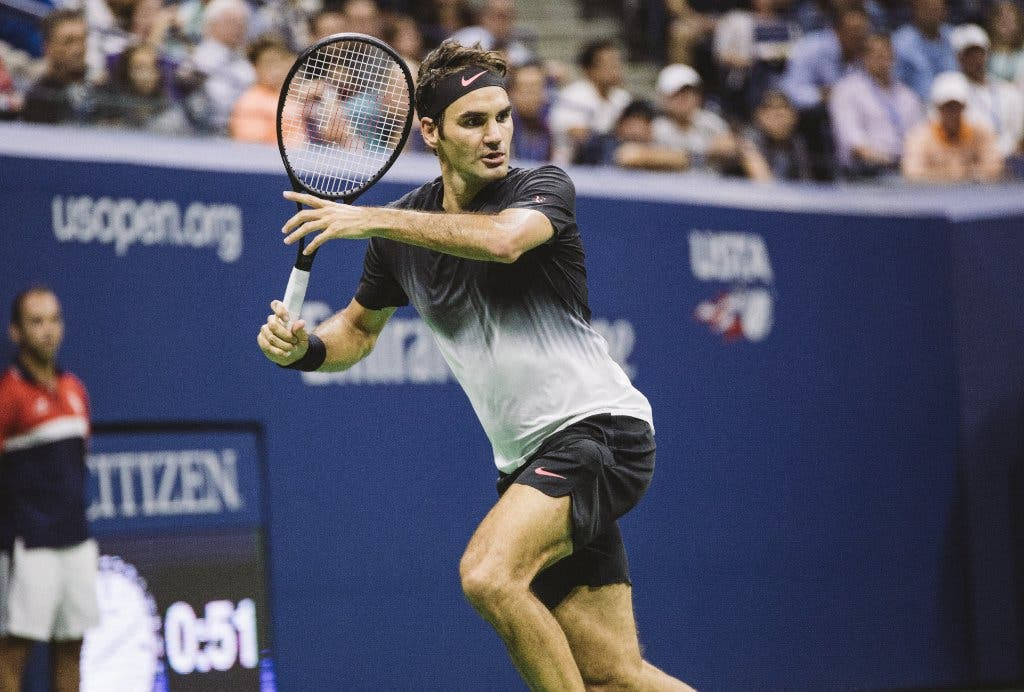 L'energia è una risorsa preziosa per Federer