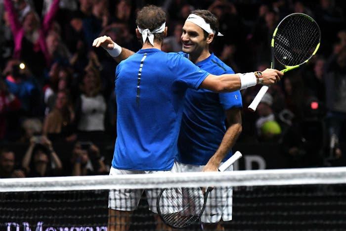 Il doppio da sogno Federer/Nadal non ha deluso. Anzi