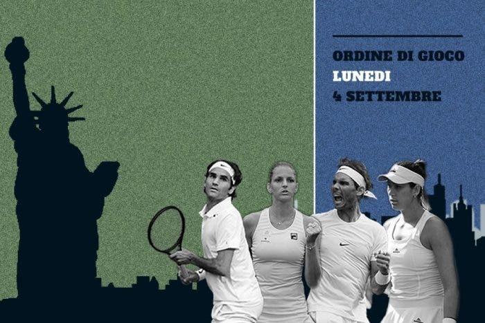 US Open day 8: Nadal di giorno, Federer di notte