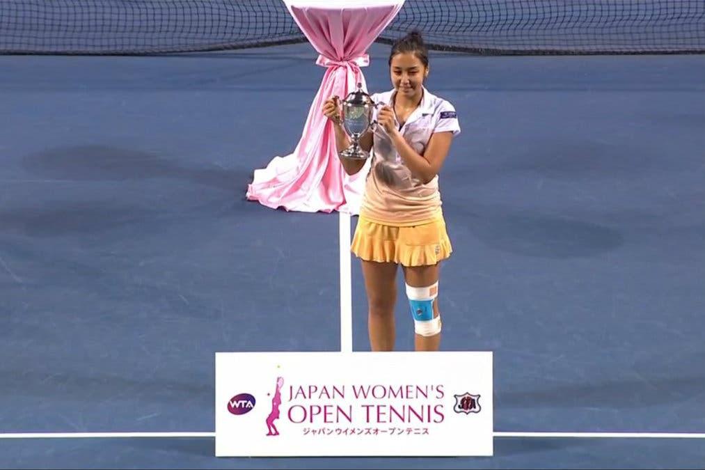 WTA Tokyo: Zarina Diyas, finalmente tu