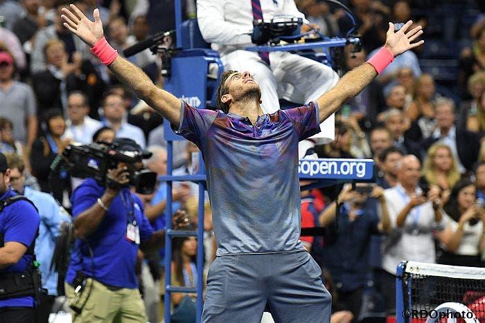 US Open: favola del Potro come otto anni fa, fuori Federer!