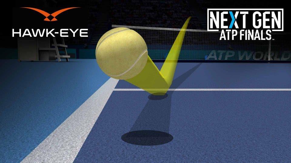 Next Gen ATP Finals: arriva Hawk-Eye LIVE, i giudici di linea non servono più
