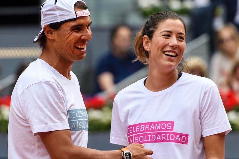 "Rafa Nadal: ""Muguruza è la favorita a vincere le Finals"""