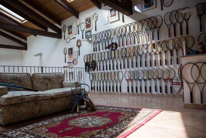 Nelle Langhe il primo museo delle racchette