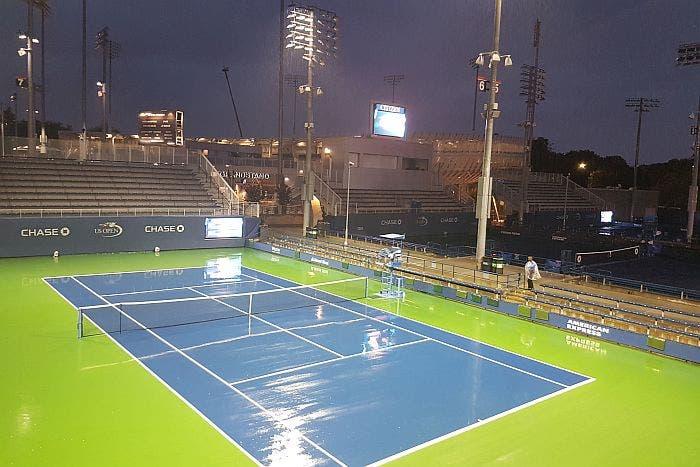US Open, day 10: prevista pioggia per tutto il giorno