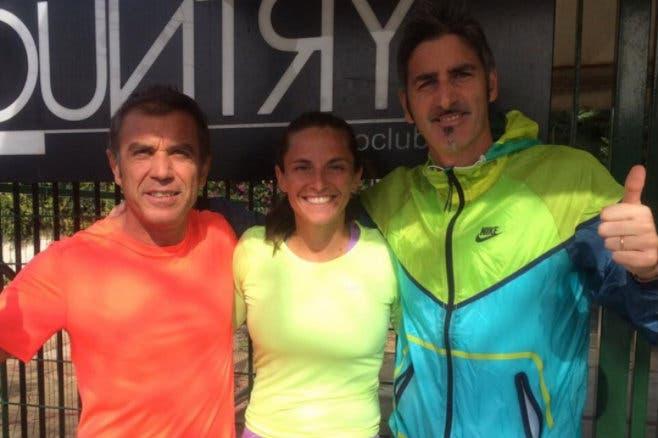 Roberta Vinci dà l'addio a coach Cinà. Si avvicina la fine della carriera