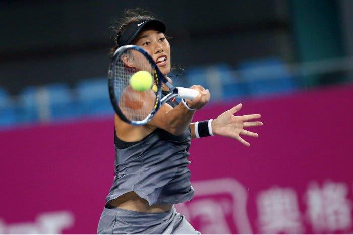 WTA Hong Kong: Zhang avanti in bicicletta