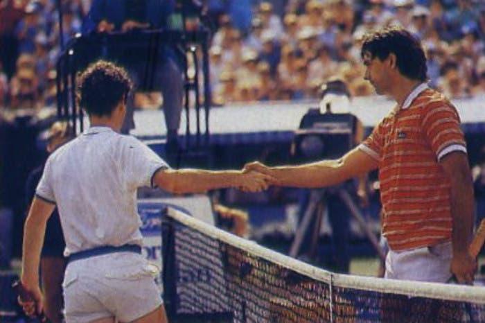 Nei dintorni prima di Djokovic: Boba, il panino con SuperMac e il regalo da Lendl