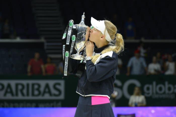 WTA Finals: trionfa Wozniacki, è il suo più grande sorriso