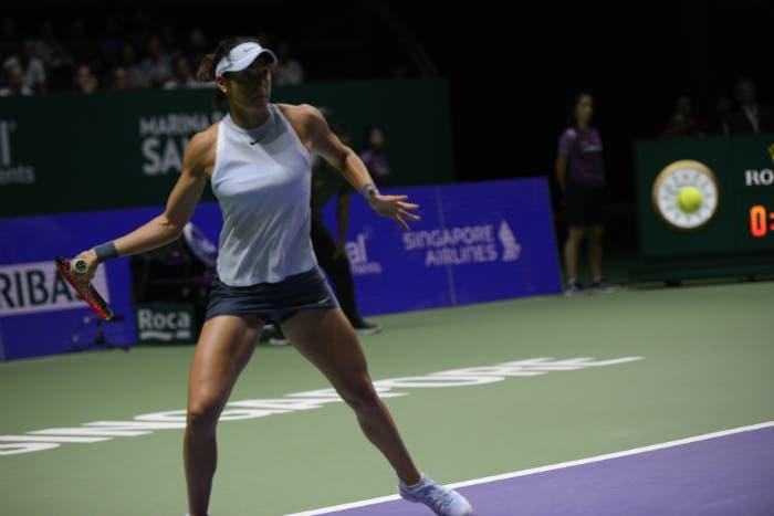 WTA Finals: Garcia non si arrende mai e ringrazia Svitolina