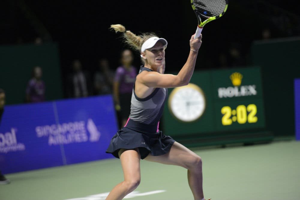 WTA Finals: Wozniacki in finale, Halep si conferma in vetta