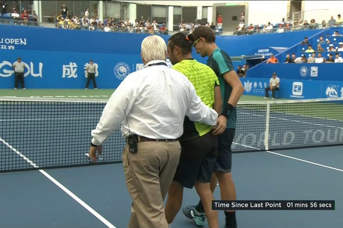 ATP Chengdu: povero Baghdatis, ancora un ritiro. Titolo a Istomin