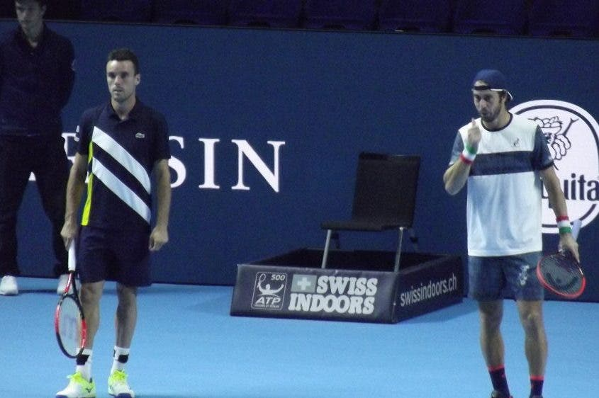 ATP Basilea: Lorenzi eliminato anche in doppio