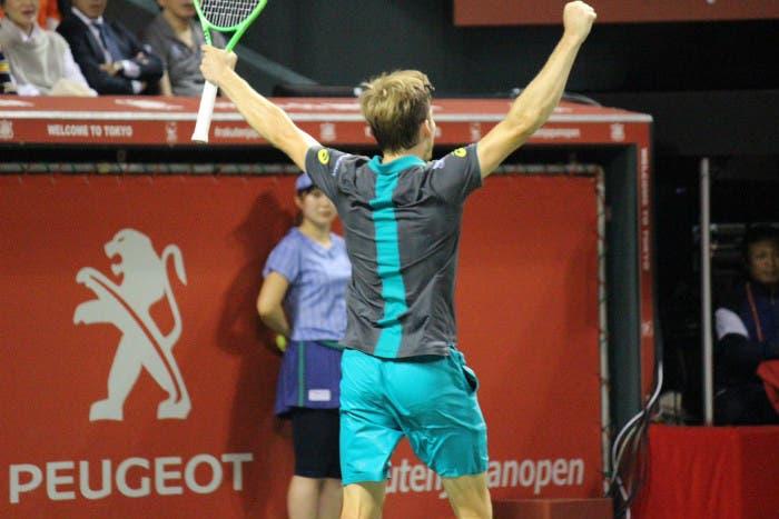 ATP Tokyo: Goffin-Mannarino, la finale dell'uomo comune