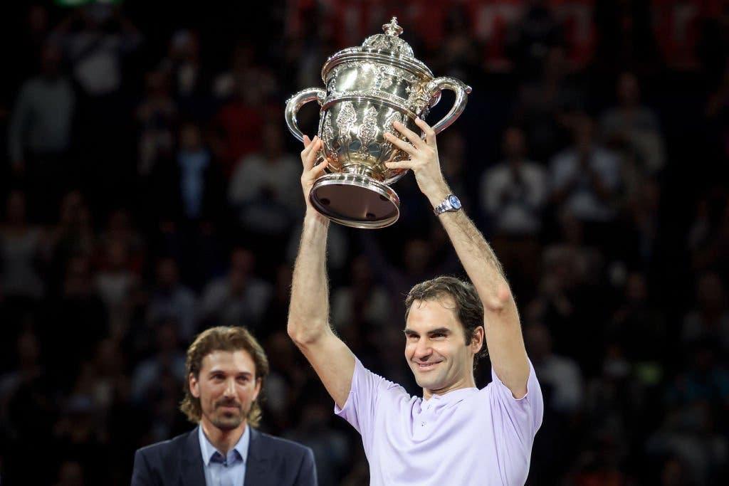 ATP Basilea: Federer senza limiti, 95° titolo in carriera