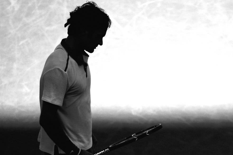 Nella bolla di Roger Federer