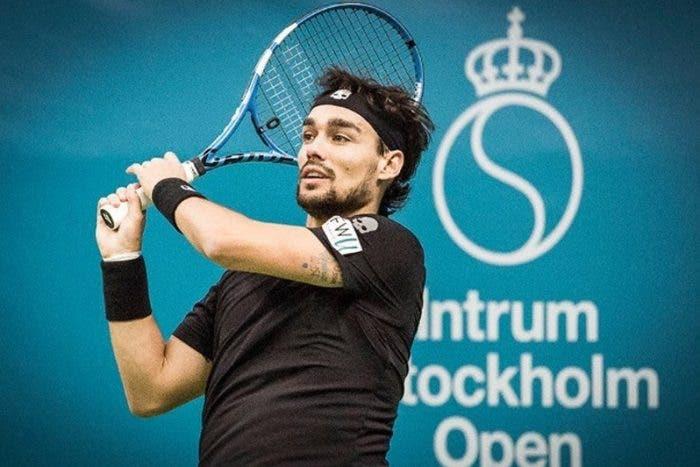 ATP Stoccolma: Fognini si salva, out Bolelli