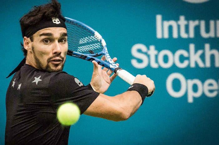 ATP Stoccolma: rimonta Fognini, ora Dimitrov