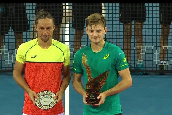 ATP Shenzhen: Goffin supera Dolgopolov, terzo titolo in carriera