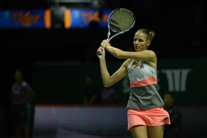 WTA Finals: gemella batte sorella, dominio Pliskova