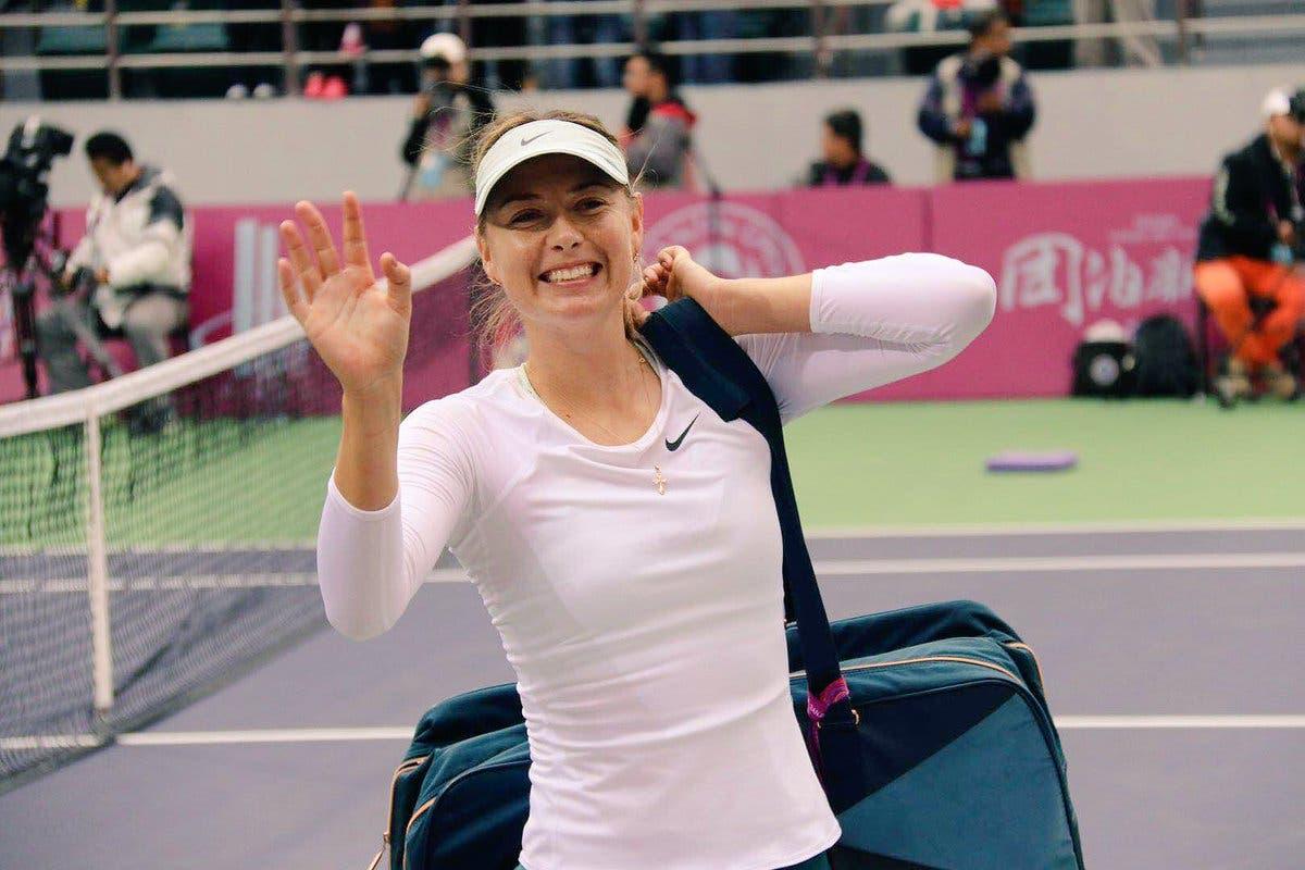 WTA Tianjin: Maria Sharapova, Araba Fenice dopo 882 giorni