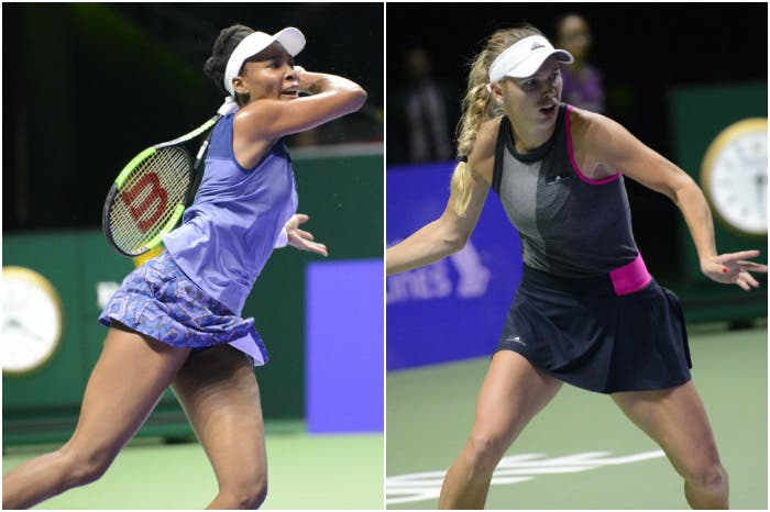 Venus vs Wozniacki: i numeri