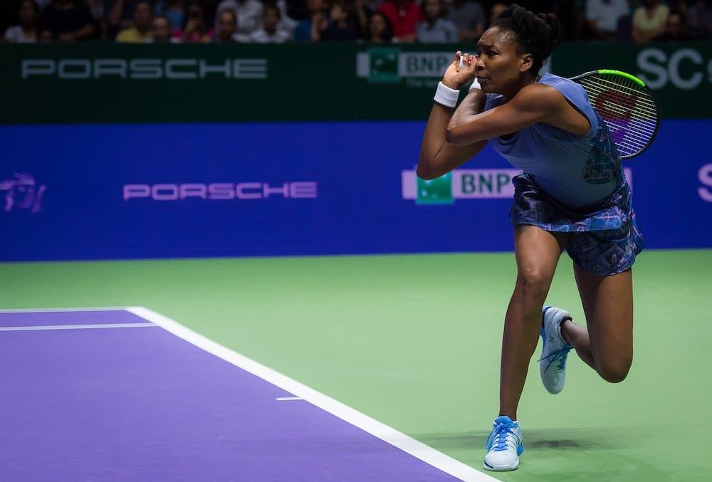 WTA Finals: l'eterna Venus batte Muguruza, è in semifinale