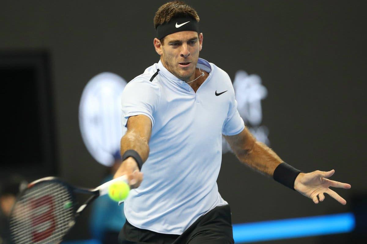 ATP Shanghai: del Potro da grandi occasioni, cancellato Zverev