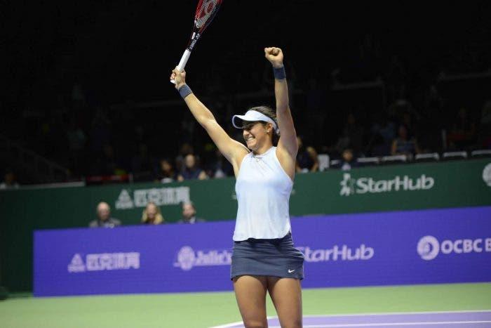 WTA Finals: Garcia al fotofinish, Svitolina rimontata