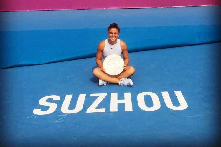 Sara Errani regina di Suzhou: rientra in top 150