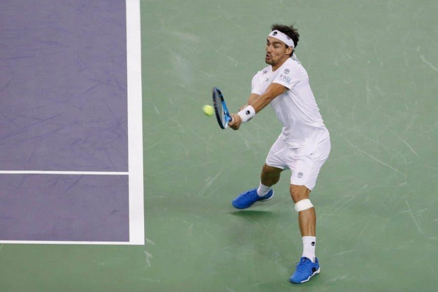 ATP Shanghai: ottimo Fognini, male Lorenzi. Kyrgios ci ricasca