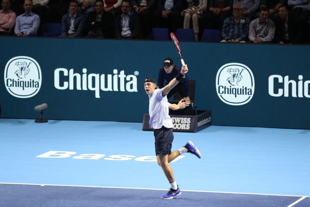 ATP Basilea: Shapovalov a Milano col brivido, fuori Lorenzi