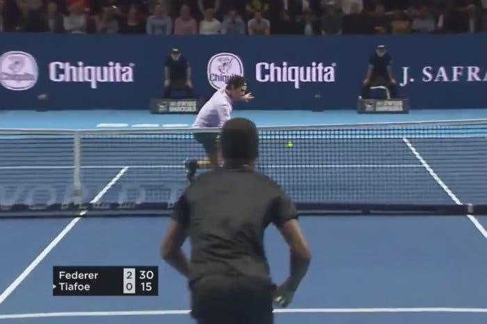 """Uno dei soliti """"momenti Federer"""""""