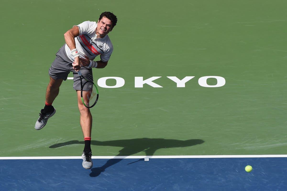 ATP Tokyo: Raonic torna e vince. Thiem si lascia sorprendere ancora