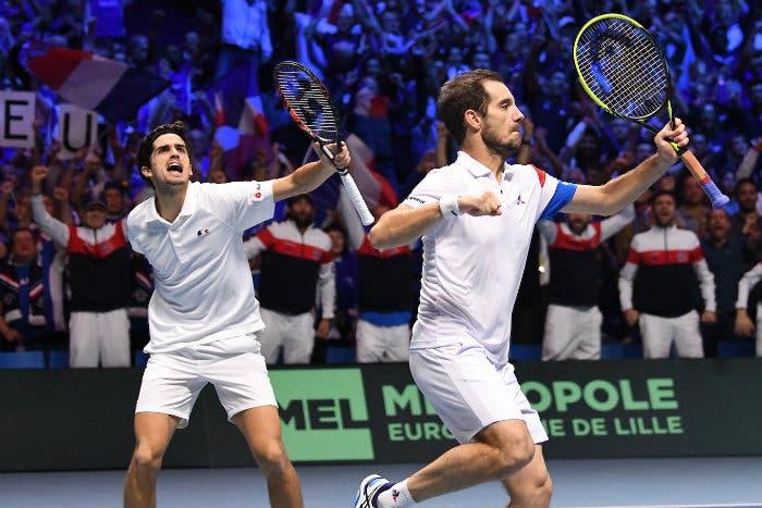 """Coppa Davis: Francia col brivido. Ora """"La Decima"""" è più vicina"""