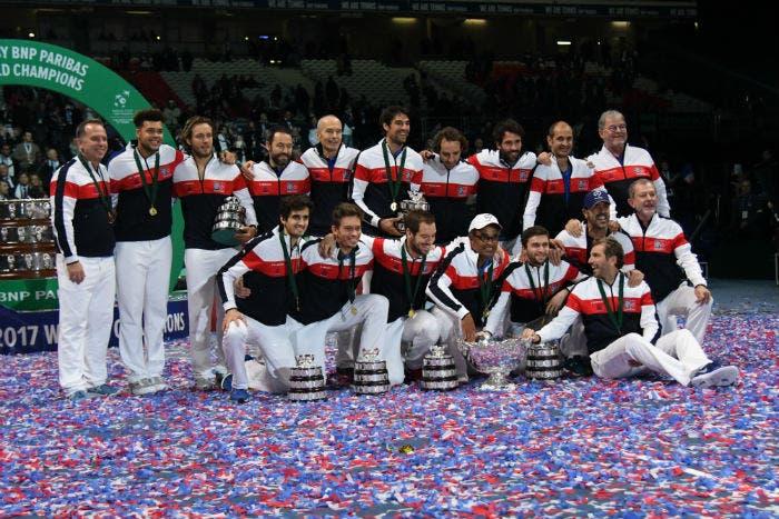 La Coppa Davis torna in Francia dopo 16 anni [FOTO]