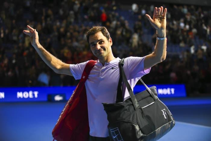ATP Finals: Federer, il nonno dei record tra i novellini