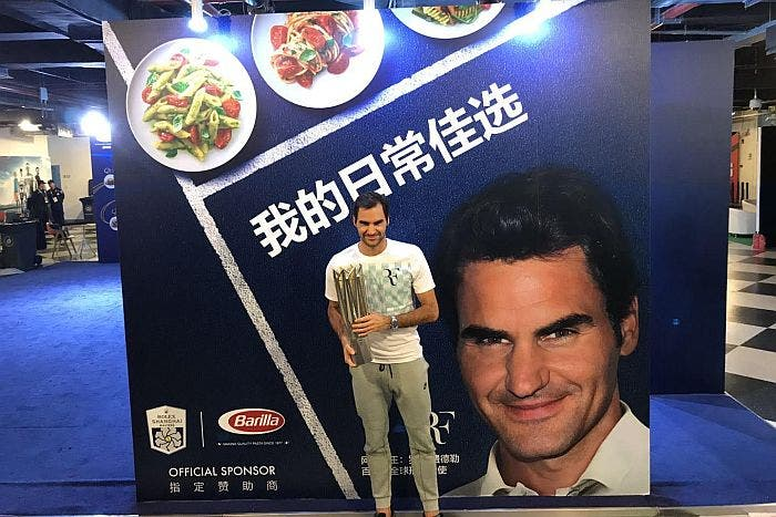Con un Federer in più Barilla alla conquista della Cina
