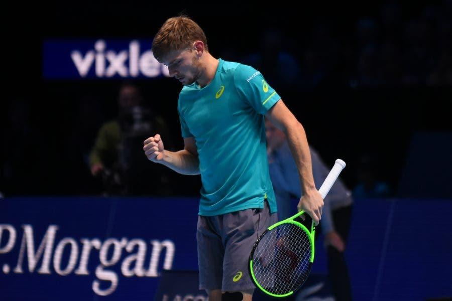 ATP Finals: Thiem non c'è, Goffin ringrazia e vola in semifinale