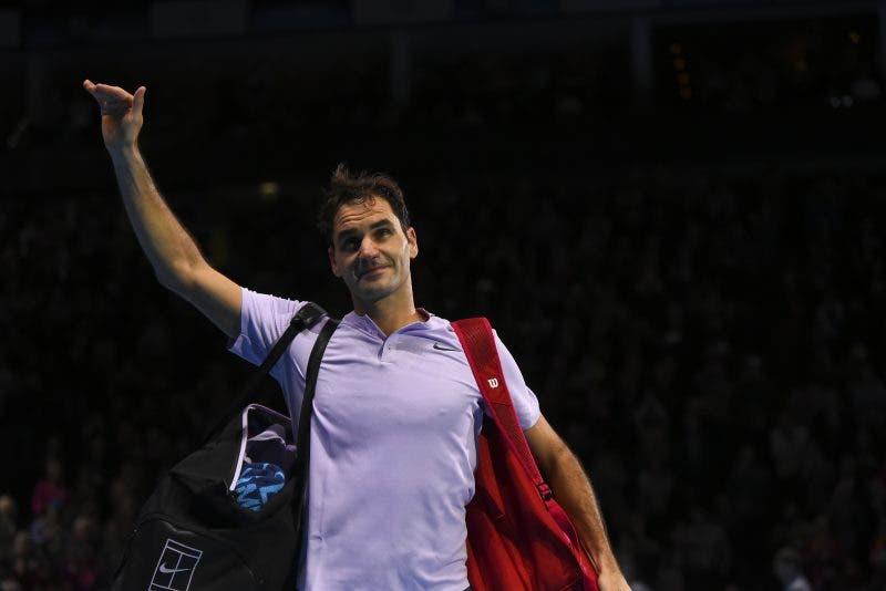 """Federer: """"Splendido anno. Ora vacanze, non vedo l'ora di tornare"""""""